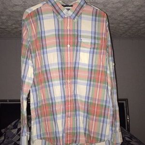 Tommy Hilfiger button down shirt large